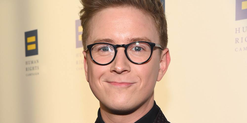 Tyler Oakley Suits Up Sharp For 'Inspiring' Human Rights ...