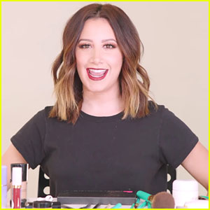 Ashley Tisdale Shares Holiday Makeup Tutorial