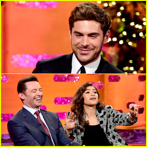 Zac Efron Recalls on 'Graham Norton' How Cycling with Hugh Jackman Almost Got Him Killed!