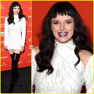 Bella Thorne Rocks Black Hair at Sundance Film Festival 2018