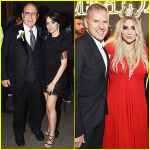 Camila Cabello & Kesha Switch It Up at Grammys 2018 at Sony After Party!