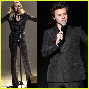 Harry Styles & Miley Cyrus Kick Off Grammys Weekend at MusiCares Person of the Year Event!