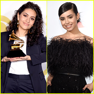 Sofia Carson Sends Major Congrats to Alessia Cara After Her Grammys 2018 Win